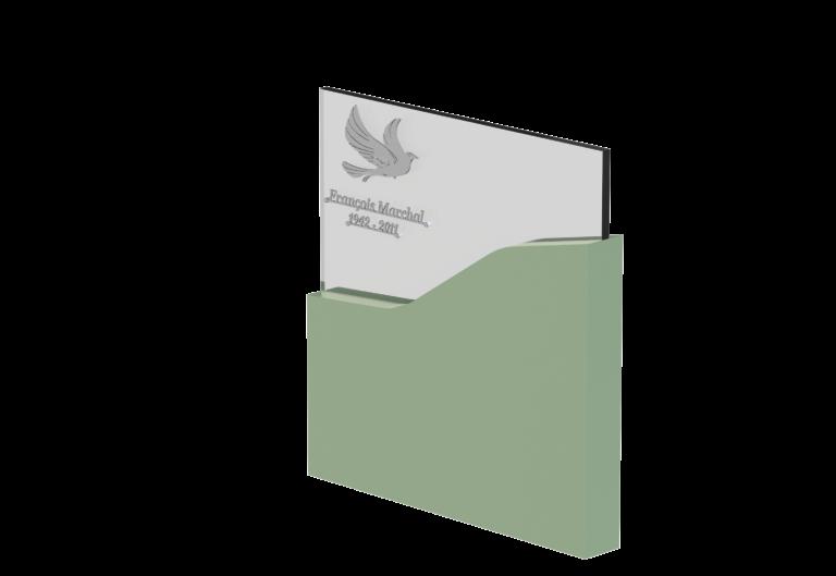 Stèle Verre