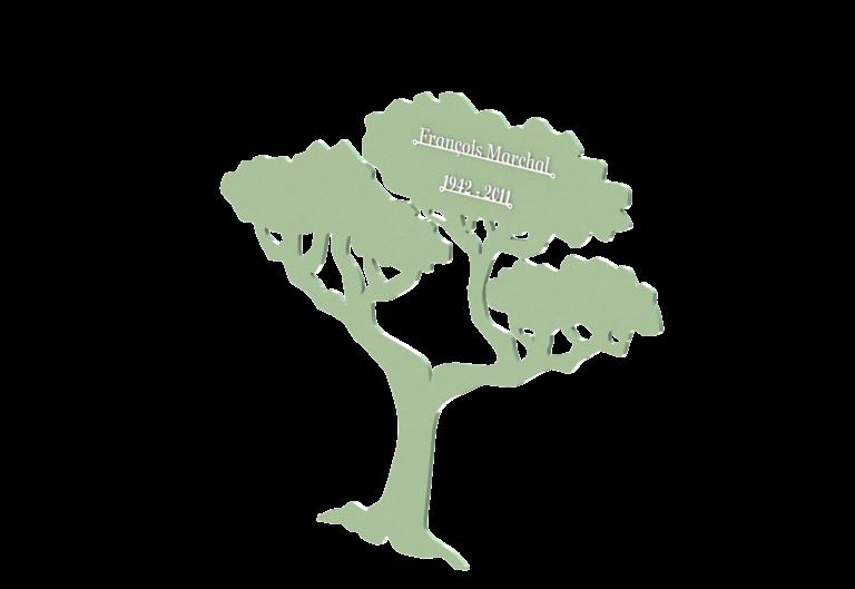 Stèle Arbuste