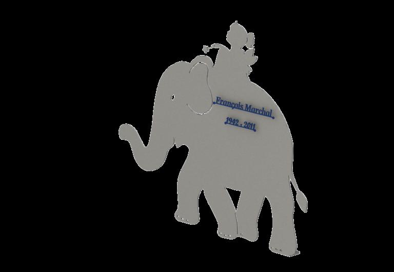 Stèle Elephant
